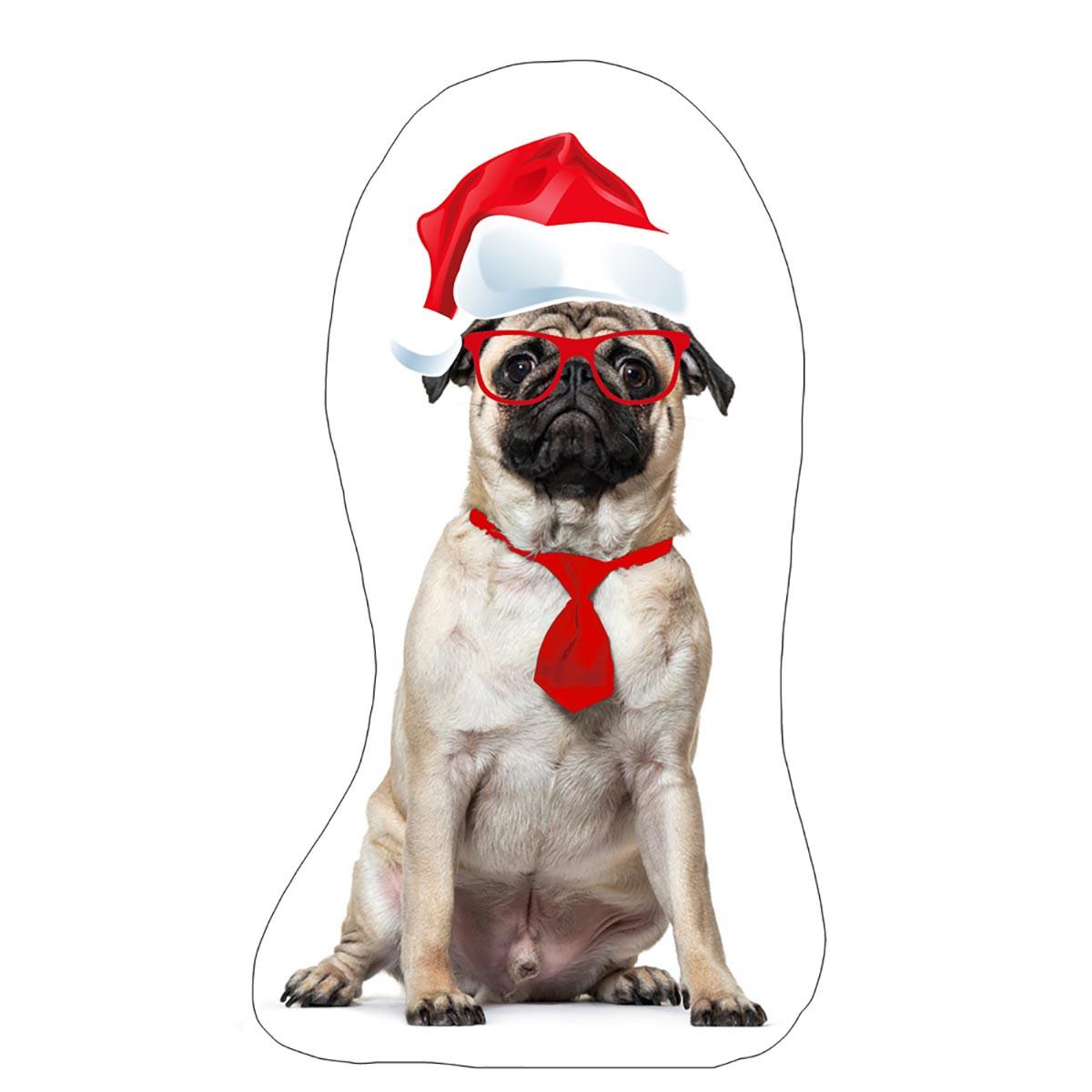 Χριστουγεννιάτικο Μαξιλάρι Apolena Σκυλάκι 730-4667/1