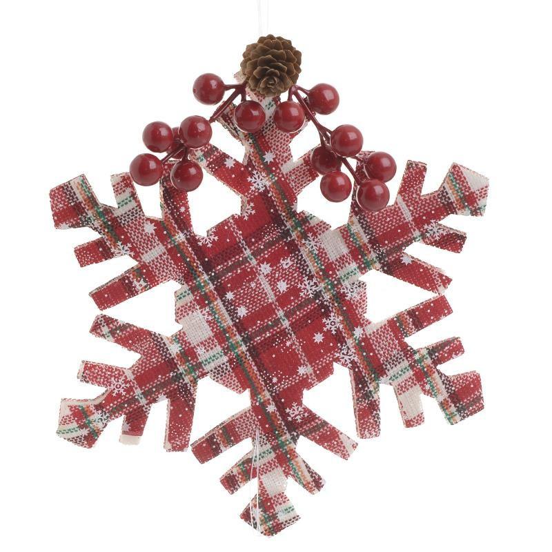 Χριστουγεννιάτικα Στολίδια (Σετ 6τμχ) InArt 2-70-393-0009