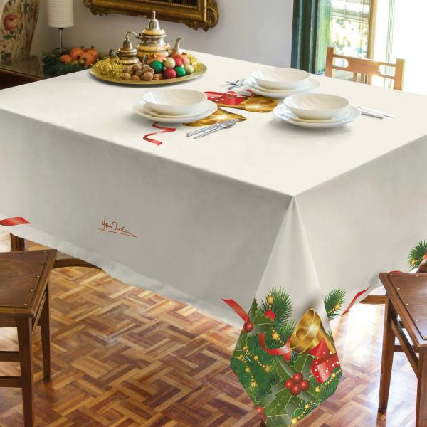 Χριστουγεννιάτικο Τραπεζομάντηλο (160x260) Makis Tselios Bell