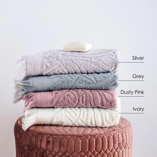 Πετσέτες Προσώπου (Σετ 2τμχ) Sb Home Celine