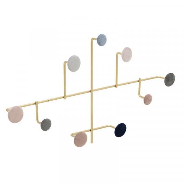 Κρεμάστρα Τοίχου 9 Θέσεων InArt 3-70-874-0030