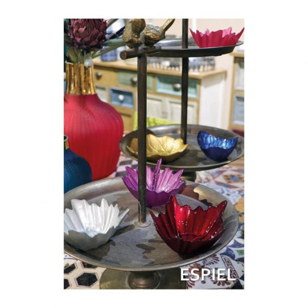Διακοσμητικά Μπωλ (Σετ 12τμχ) Espiel Pinecone AD3802B
