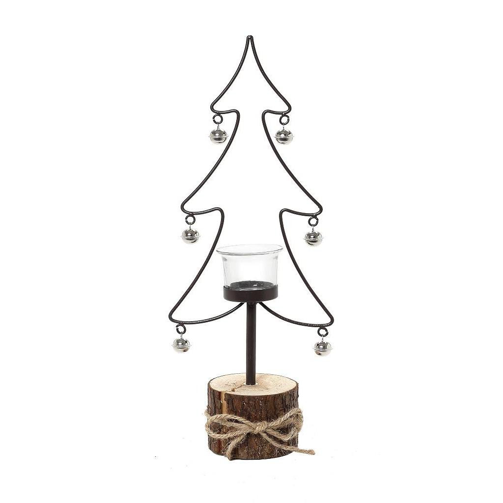 Χριστουγεννιάτικo Κηροπήγιο Espiel AST703