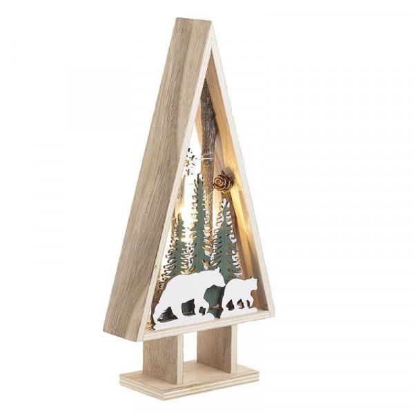 Χριστουγεννιάτικο Δεντράκι Με Φως InArt 2-70-093-0007