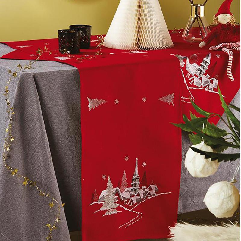 Χριστουγεννιάτικο Καρέ White Egg 17719-R