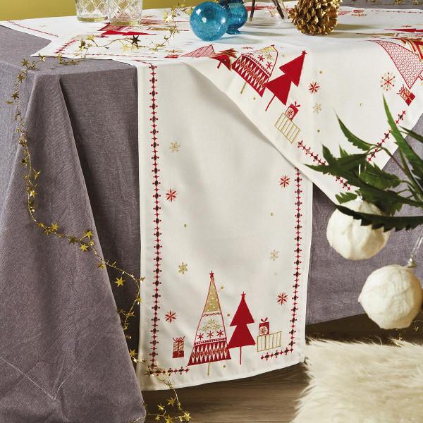 Χριστουγεννιάτικο Καρέ White Egg 17424-IV