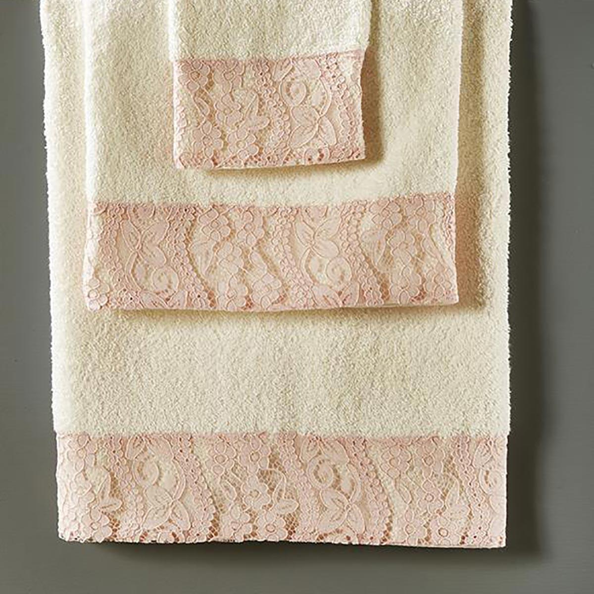 Πετσέτες Μπάνιου (Σετ 3τμχ) White Egg SP30/1