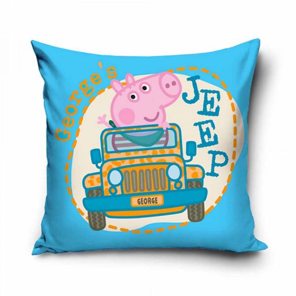 Διακοσμητική Μαξιλαροθήκη (40x40) George Pig PP182043