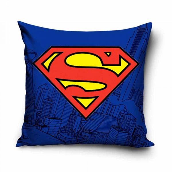 Διακοσμητική Μαξιλαροθήκη (40x40) Superman SUP8002