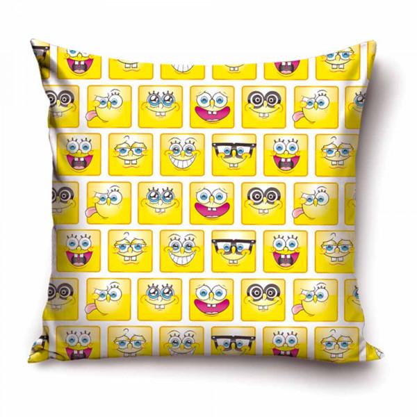 Διακοσμητική Μαξιλαροθήκη (40x40) SpongeBob Squarepants SBOB1730
