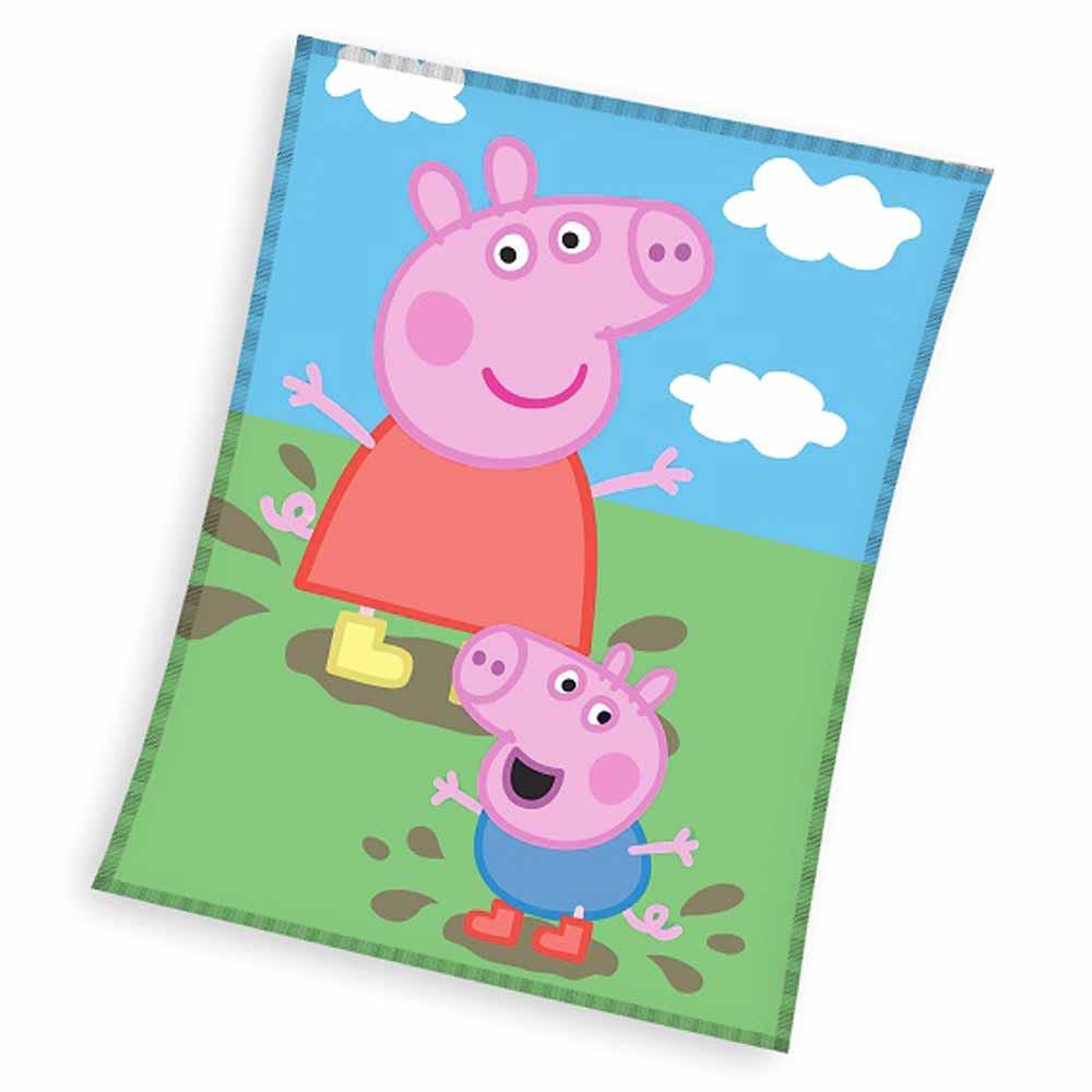 Κουβέρτα Fleece Μονή Peppa Pig PP182025