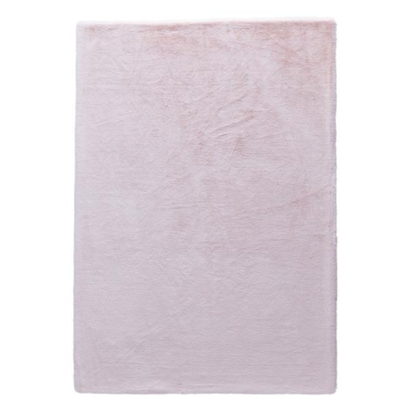 Γούνινα Χαλιά Κρεβατοκάμαρας (Σετ 3τμχ) New Plan Rabbit Skin R06 Pink