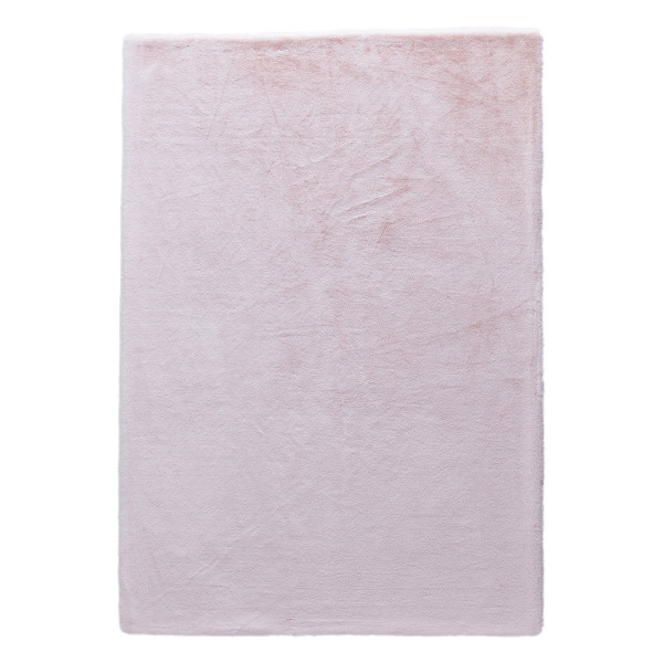 Γούνινο Χαλί (160x230) New Plan Rabbit Skin R06 Pink