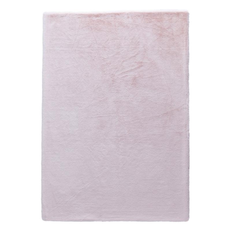 Γούνινο Χαλί (160x230) New Plan Rabbit Skin R06 Pink