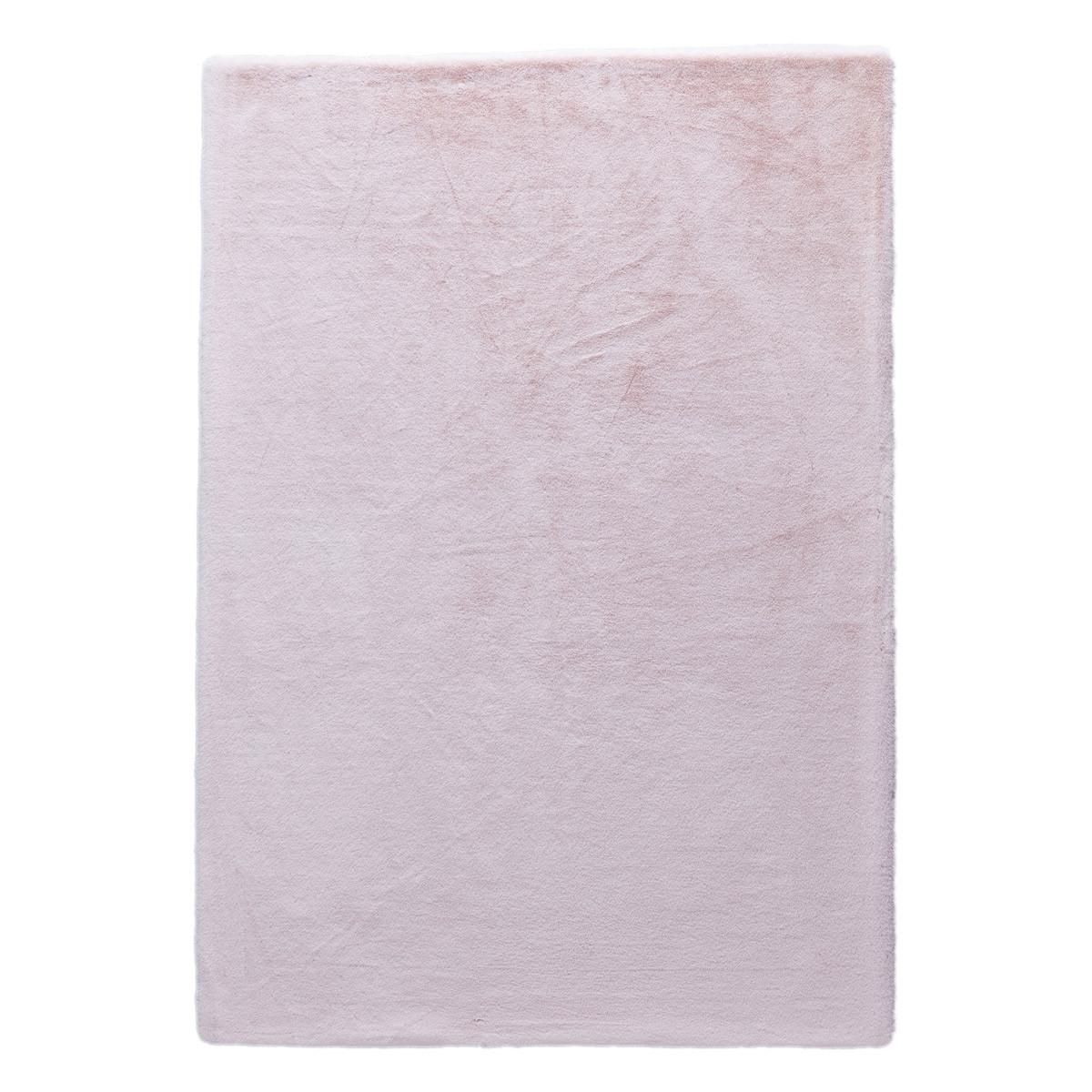 Γούνινο Χαλί (160×230) New Plan Rabbit Skin R06 Pink