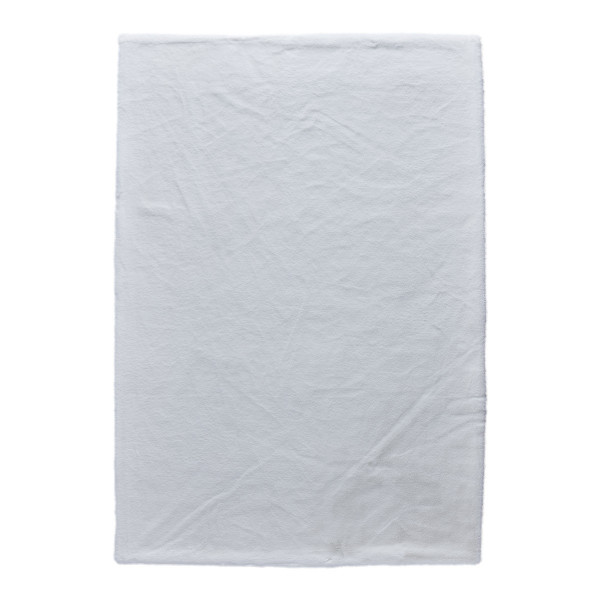 Γούνινα Χαλιά Κρεβατοκάμαρας (Σετ 3τμχ) New Plan Rabbit Skin R16 White