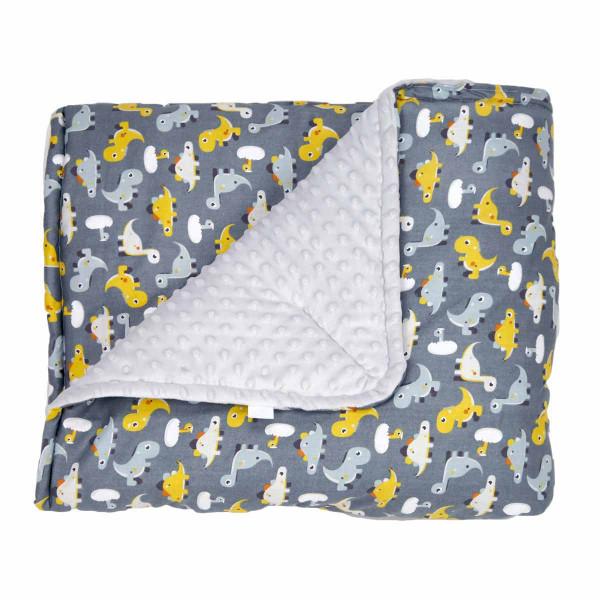 Κουβέρτα Minky Κούνιας Ninna Nanna Little Dino