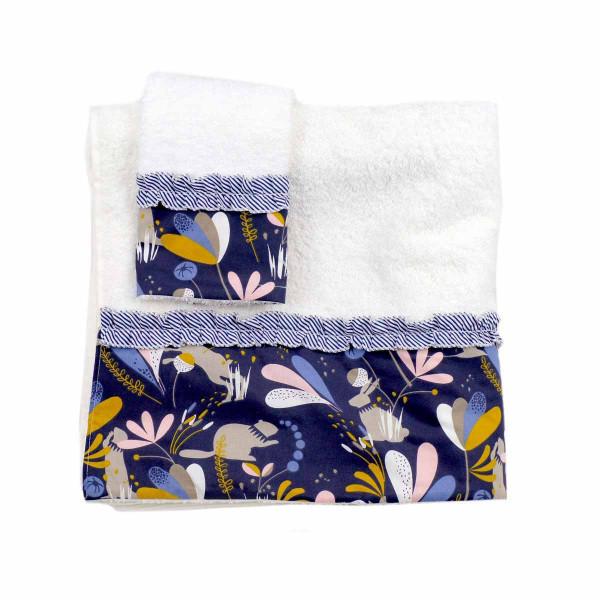 Βρεφικές Πετσέτες (Σετ 2τμχ) Ninna Nanna Cute Rabbit
