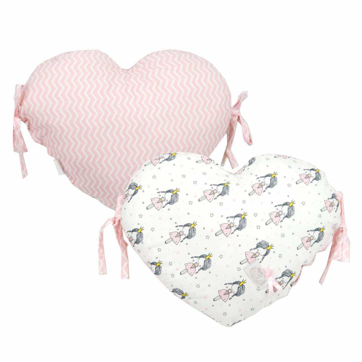 Προστατευτικό Μαξιλάρι Κούνιας Ninna Nanna Little Princess Καρδιά