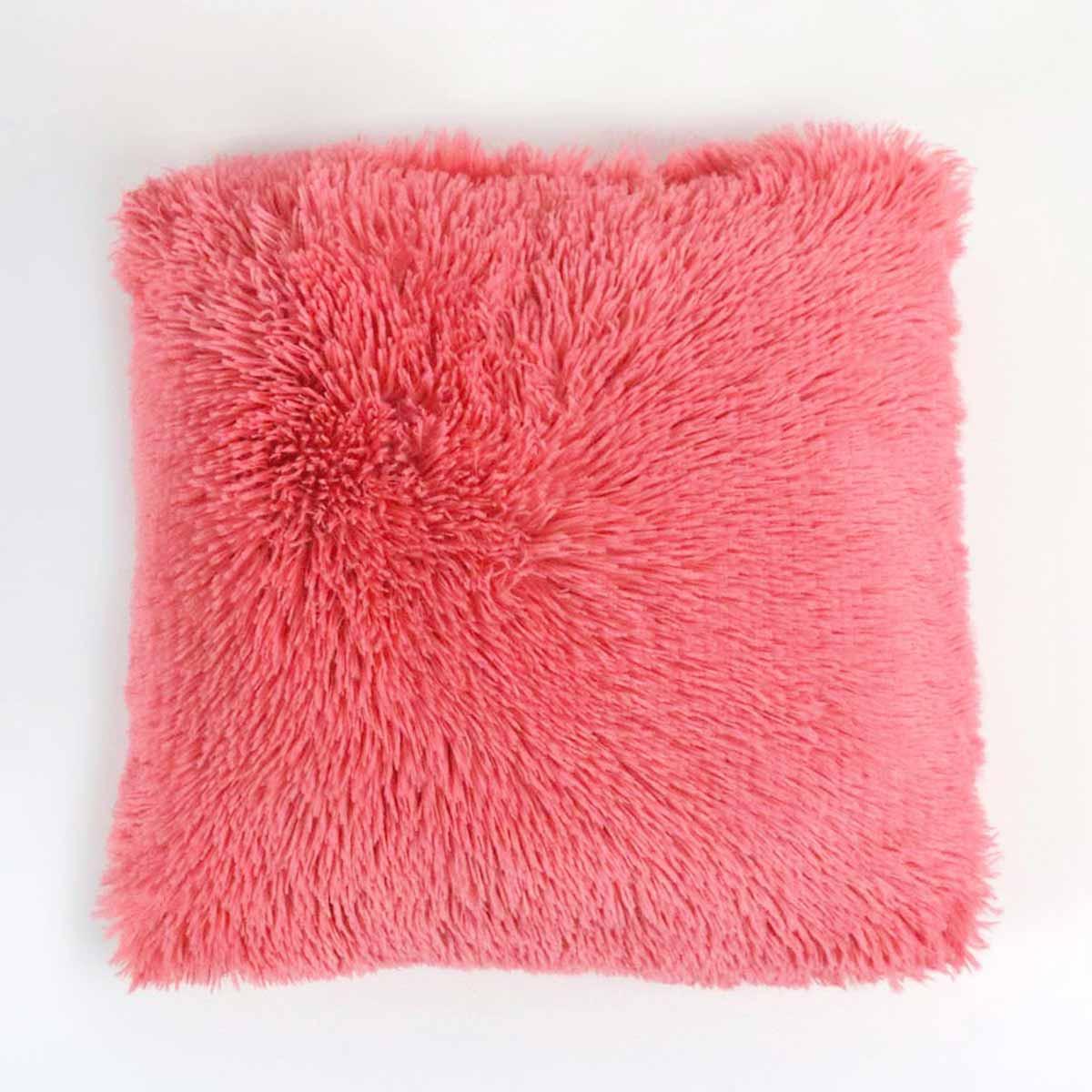 Διακοσμητικό Μαξιλάρι (40×40) Don Algodon Flou Coral