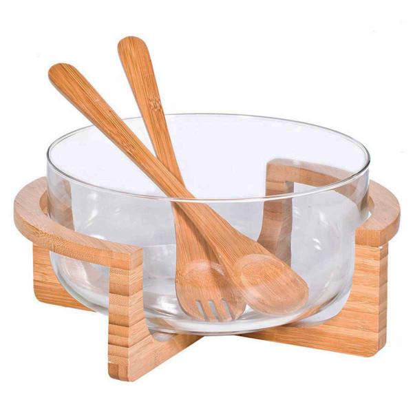Σαλατιέρα Με Κουτάλες Marva 604006