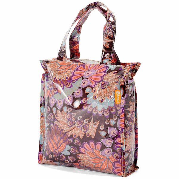 Τσάντα Για Ψώνια Benzi BZ5399 Purple/Brown