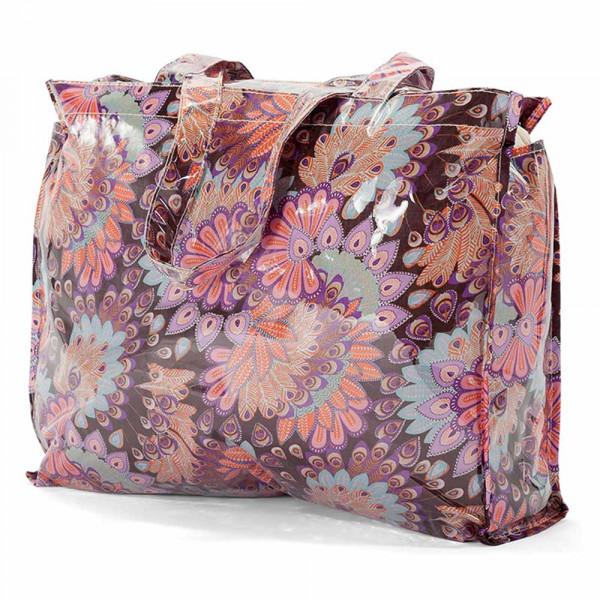 Τσάντα Για Ψώνια Benzi BZ5400 Purple/Brown