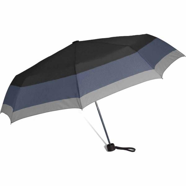 Ομπρέλα Βροχής Σπαστή Χειροκίνητη Benzi PA056 Black