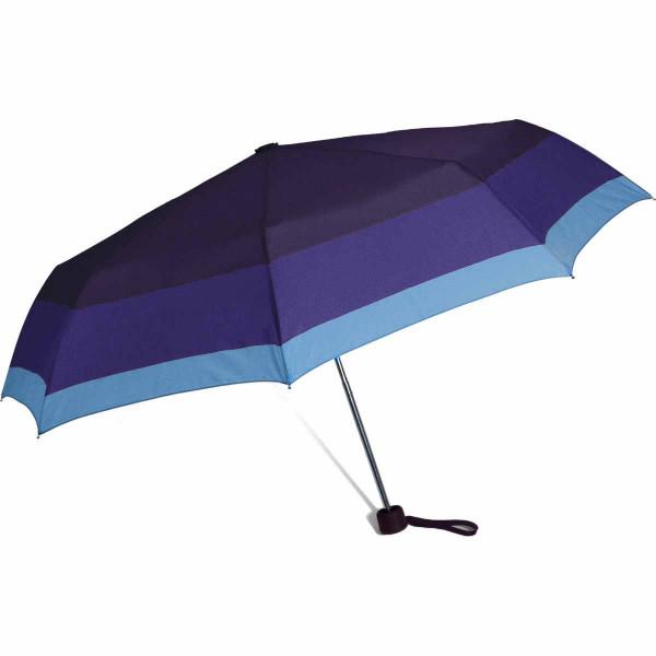 Ομπρέλα Βροχής Σπαστή Χειροκίνητη Benzi PA056 Blue