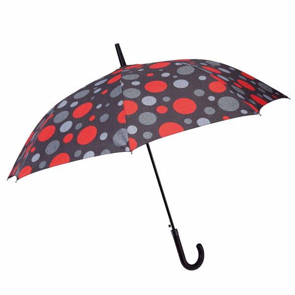 Ομπρέλα Βροχής Μπαστούνι Αυτόματη Benzi PA063 Black