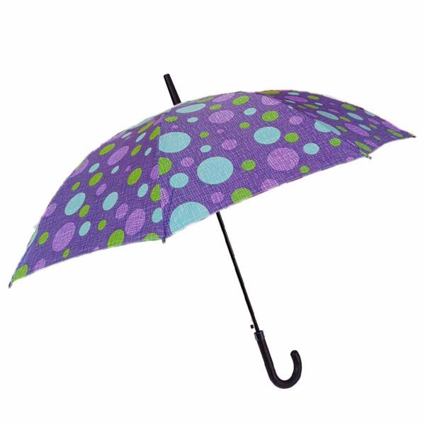 Ομπρέλα Βροχής Μπαστούνι Αυτόματη Benzi PA063 Lilac
