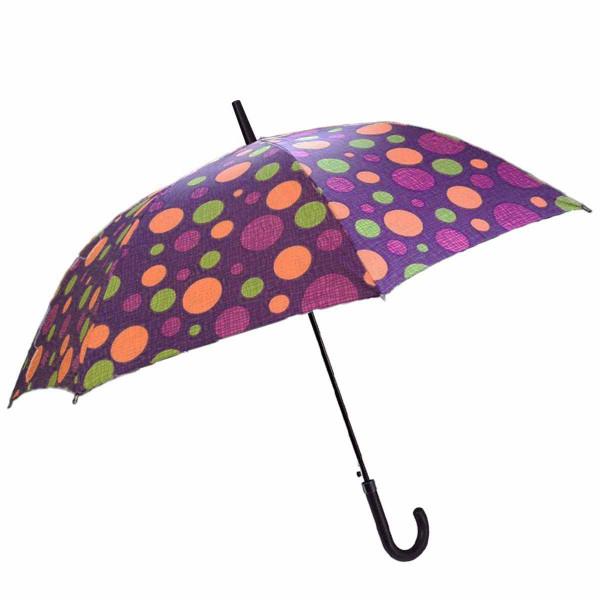 Ομπρέλα Βροχής Μπαστούνι Αυτόματη Benzi PA063 Purple