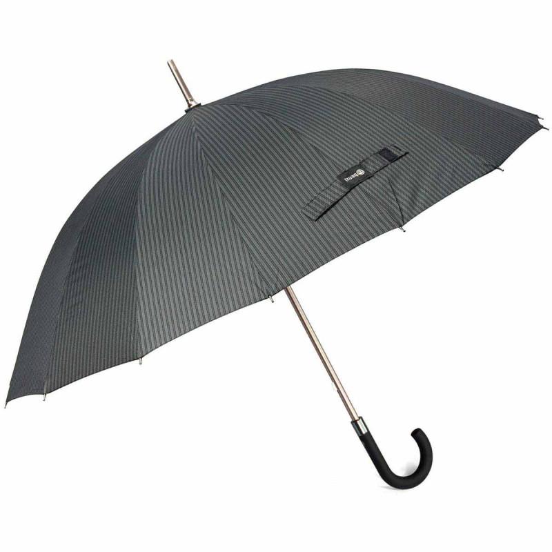 Ομπρέλα Βροχής Μπαστούνι Χειροκίνητη Benzi PA073 Ριγέ