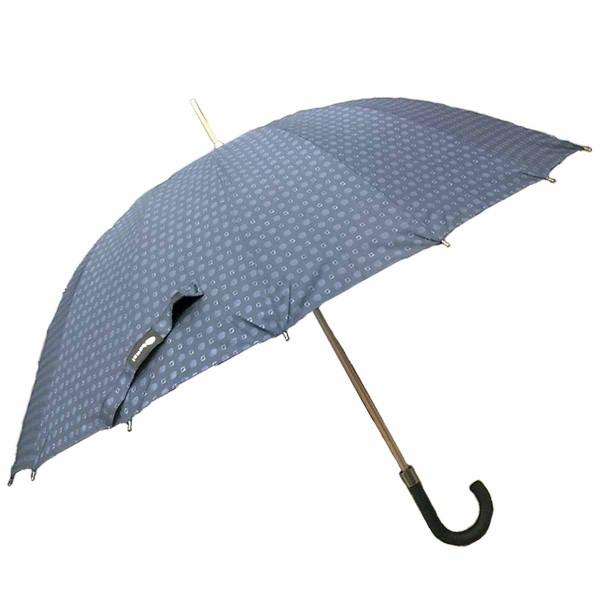 Ομπρέλα Βροχής Μπαστούνι Χειροκίνητη Benzi PA073 Blue