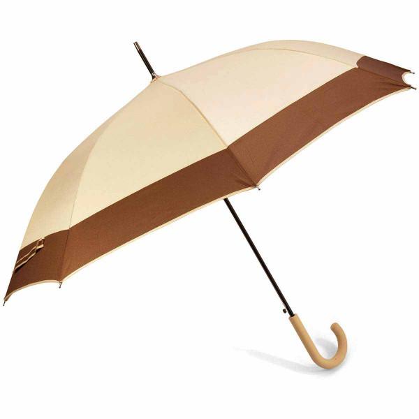 Ομπρέλα Βροχής Μπαστούνι Αυτόματη Benzi PA084 Beige/Brown