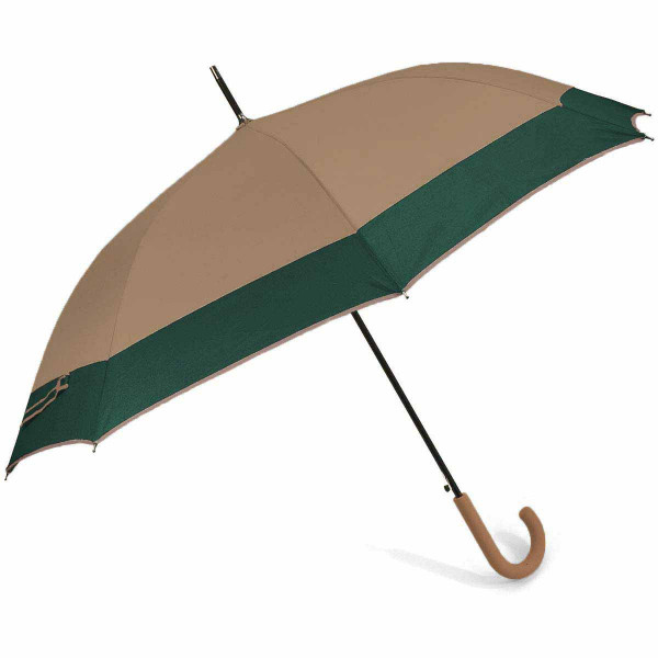Ομπρέλα Βροχής Μπαστούνι Αυτόματη Benzi PA084 Brown/Green