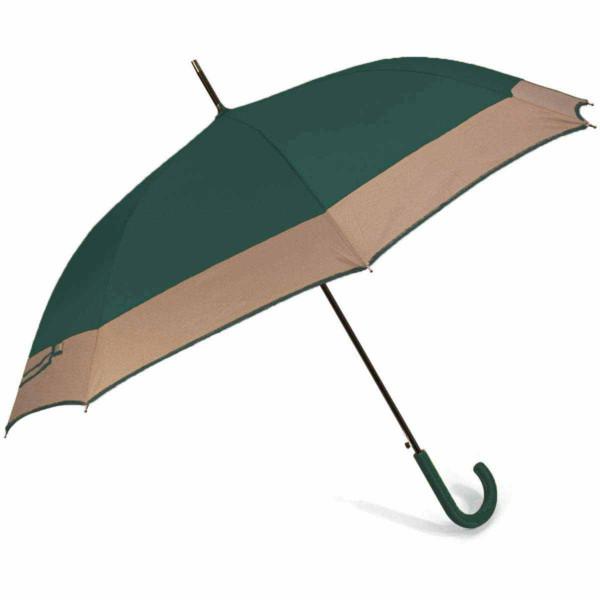 Ομπρέλα Βροχής Μπαστούνι Αυτόματη Benzi PA084 Green/Brown