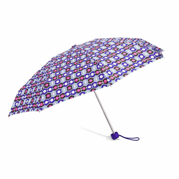Ομπρέλα Βροχής Σπαστή Χειροκίνητη Benzi PA091 Purple