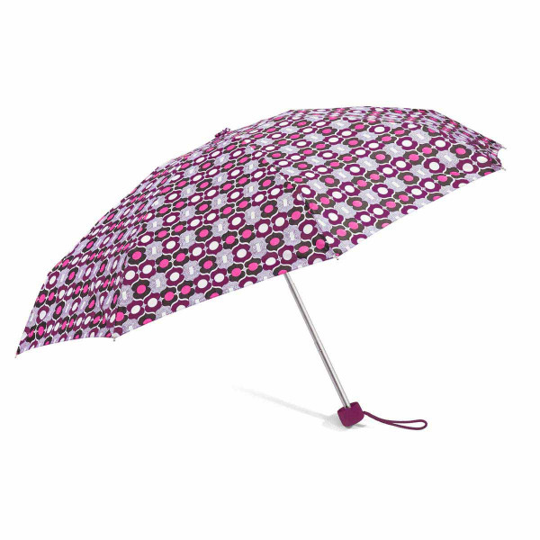 Ομπρέλα Βροχής Σπαστή Χειροκίνητη Benzi PA091 Bordo