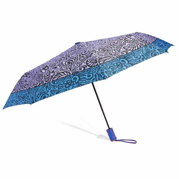Ομπρέλα Βροχής Σπαστή Αυτόματη Benzi PA092 Lilac