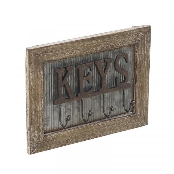 Κλειδοθήκη Τοίχου InArt 3-70-052-0007