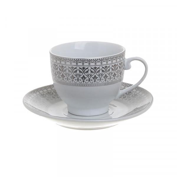 Φλυτζάνια Καφέ + Πιατάκια (Σετ 6τμχ) InArt 3-60-707-0007