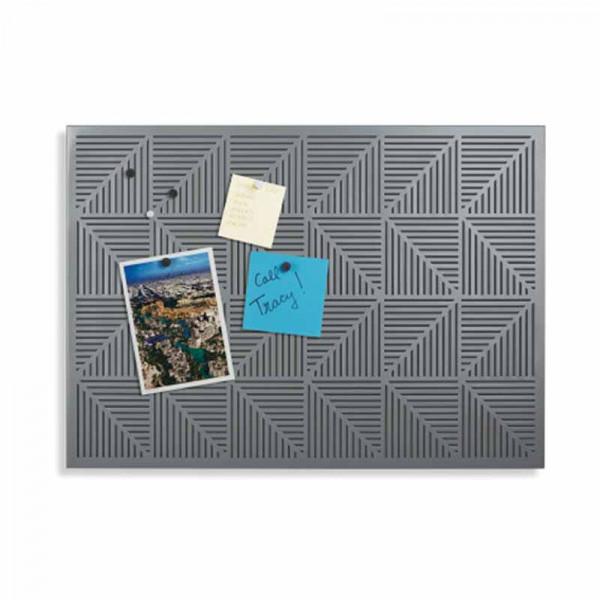 Μαγνητικός Πίνακας Ανακοινώσεων Umbra Trigon Charcoal 470790-149