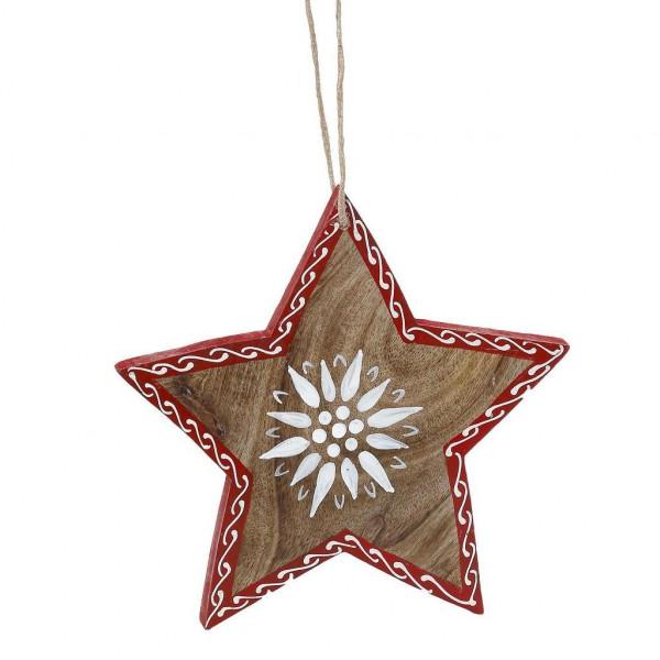 Χριστουγεννιάτικο Κρεμαστό Διακοσμητικό Espiel KAV202K4