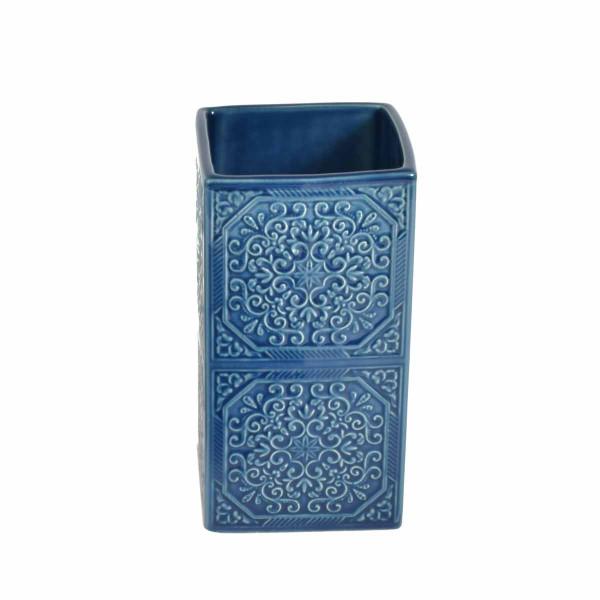 Ποτήρι Οδοντόβουρτσας Estia Square Blue 02-6549