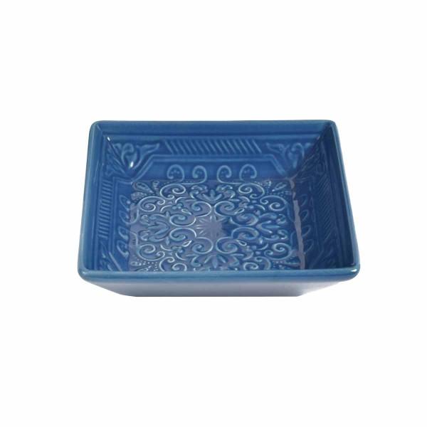 Σαπουνοθήκη Estia Square Blue 02-6556