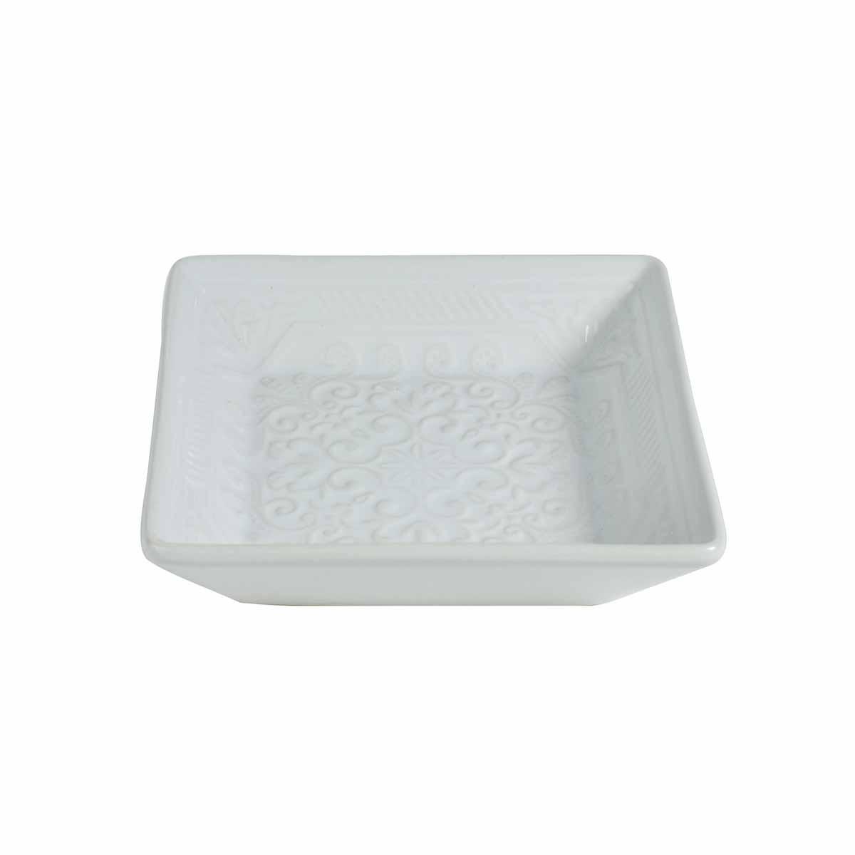 Σαπουνοθήκη Estia Square White 02-6587