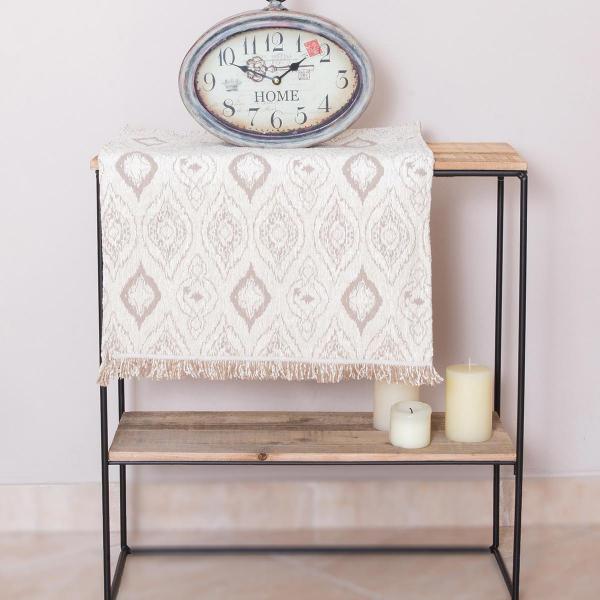 Τραβέρσα Loom To Room Unik Ivory