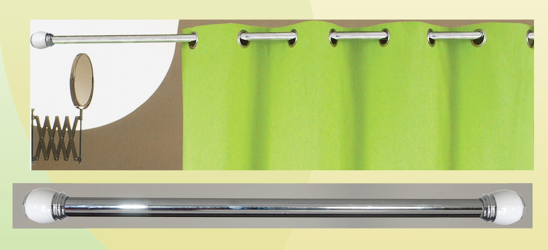 Βραχίονας Μπάνιου Πτυσσόμενος 140-260cm San Lorentzo Chrome 010 43208