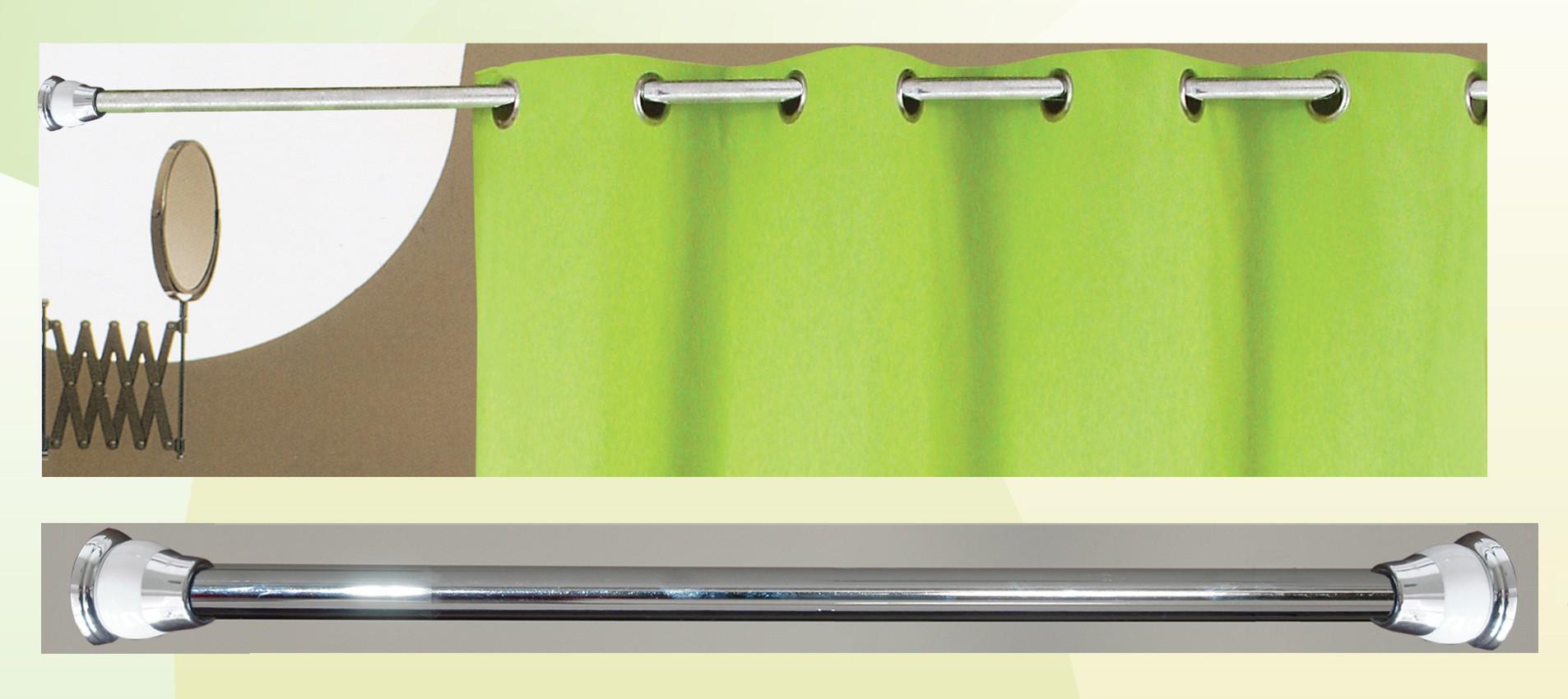 Βραχίονας Μπάνιου Πτυσσόμενος 140-260cm San Lorentzo Chrome 055 43210